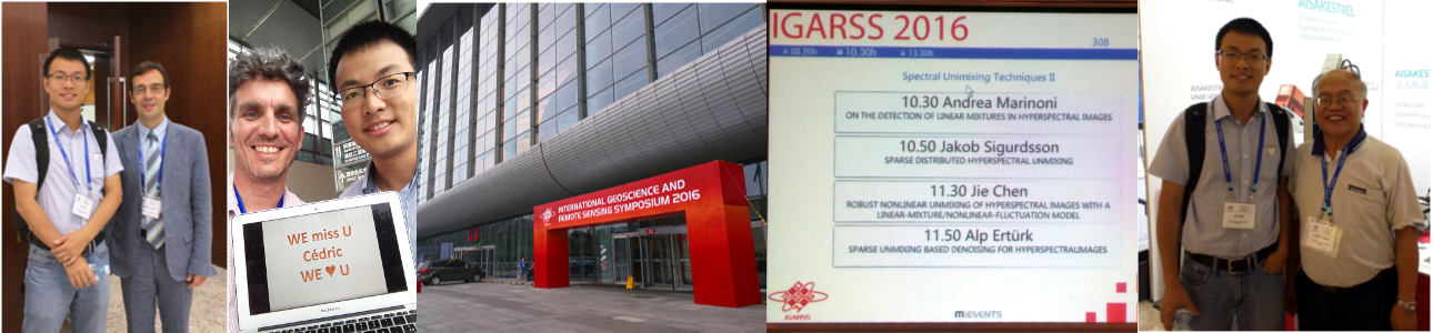 IGARSS 2016 at Beijing